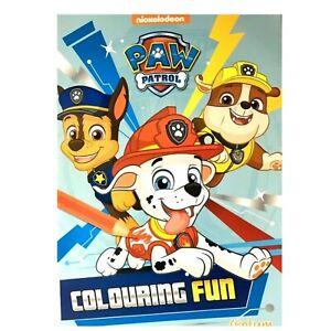 Paw Patrol Fun Colouring Book Kids Home Acivity Fun Kids Travel Toy Fun Gift