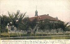 Aberdeen South Dakota~Senior High School~Cupola on Top~1907 Postcard