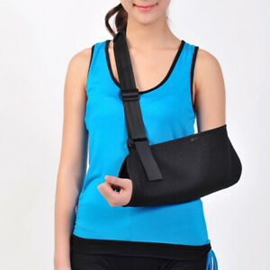 Mesh Arm Sling Shoulder Immobilizer Wrist Elbow Rotator Cuff Support Neoprene LD