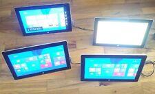 Lot of 9 Microsoft Surface RT  1572 Tablets 2GB 64GB  Read descriptio