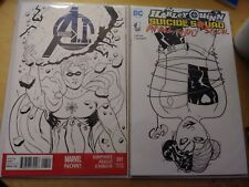 ORIGINAL ART COMIC BOOK SKETCH COVER OR COMMISSION. Pick your issue etc!