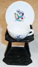 Mini Cup An Saucer Alice In Wonderland Walt Disney Production