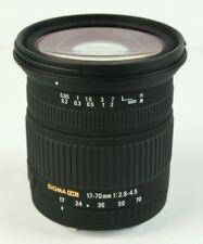 Sigma DC 17-70mm f/2.8-4.5 DC Macro Lens For Nikon Camera