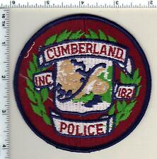 Cumberland Police (Maine) Shoulder Patch - new from 1992