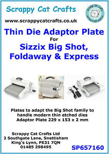 Sizzix Big Shot Solo Wafer Thin Die Adapter : SP657160  2