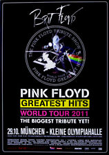 BRIT FLOYD - 2011 - Konzertplakat - Pink Floyd - Greatest - Tourposter - München