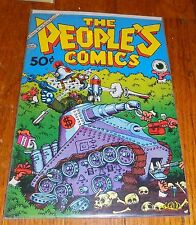 VTG 1972 Golden Gate The People's Comics Underground Comix Comic Book 70s