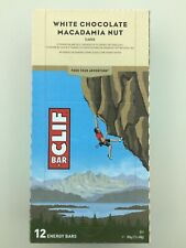 Clif Bar White Chocolate Macadamia Nut 816 G - pack of 12 (see description)