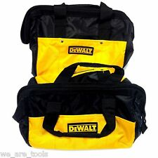 """2 New Dewalt 12"""" Tool Bag/Case For Drill, Saw, Grinder,Battery 18V 12 14 18 VOLT"""