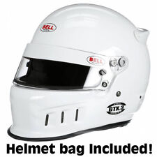 Bell GTX-3  Auto Racing Helmet  7-1/2 White  SA2015      +IN STOCK, SHIPS NOW+