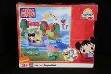 nihao kai-lan Mega Bloks Blocks DRAGON BOAT Building Set 3131