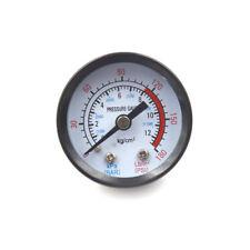 10mm Thread Gas Air Pump Pressure Gauge Compressor Manometer 0-12BAR 0-180PSI