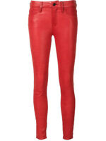 Brand New Women's Genuine Lambskin Leather Slim fit Skinny Leather Pants HL 11