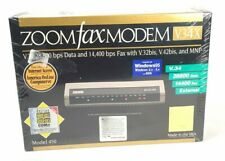 Sealed Zoom Fax Modem V 34X Plus External Modem Model 450 Unopened