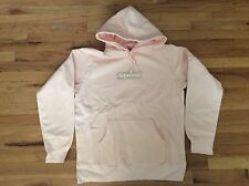 NEW SUPREME BOX LOGO HOODED SWEATSHIRT PEACH FW16SW6 SIZE LARGE DEADSTOCK