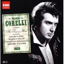 """FRANCO CORELLI """"ICON:FRANCO CORELLI"""" 4 CD NEUWARE"""