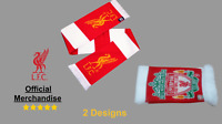 Liverpool Football club Original Crested Retro Scarf Souvenir ONE SIZE Liverpool