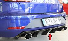 Rieger Diffusor für Seat Leon 5F ST Cupra Facelift Heckansatz schwarz glanz