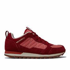 Женские MERRELL альпийские кроссовки Кроссовки в красно-слоистых нейлон и замша кожа