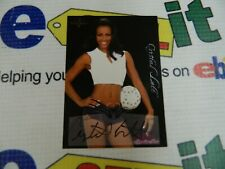 """autographed Bench Warmer Cards """"CRYSTAL LETT""""From Series In 2005"""