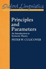 Principles and Parameters: An Introduction to Syntactic Theory (Paperback or Sof