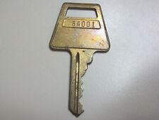 Key Brass # 84001 American Lock Co flat key,