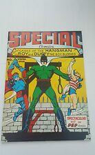 special comics #1, 1973  ( flashback # 4 ) hangman , boy buddies