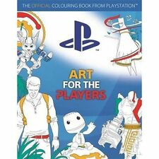 Art for the Players The Official Colouring Book from Playstation 9781783707201