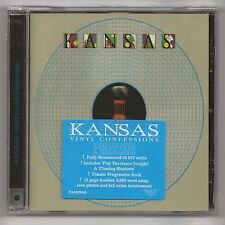 KANSAS - Vinyl Confessions - ROCK CANDY EDITION - REMASTERED CD - FACTORY SEALED