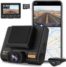 Dual Dash Cam, Aqp Full Hd 1080P Car Camera Front and Rear for Cars