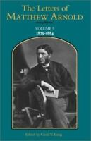 The Letters of Matthew Arnold.Volume 1: 1829-1859 (Hardback or Cased Book)