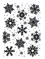Prägefolder Embossing-Schablone Prägeschablone Schneeflocken Winter efco 4254028