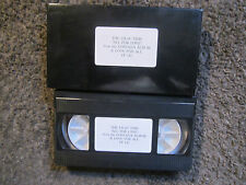 """THE LILAC TIME """"ALL FOR LOVE"""" 1990 UNPLAYED FONTANA RECORDS PROMO VHS VIDEO TAPE"""