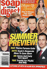 Soap Opera Digest Magazine - June 4, 2018 - Summer Preview, Rick Springfield