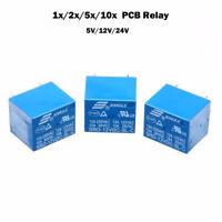 PCB Neu Leistungsrelais für Printmontage 5Pin Miniatur Power Relais 5V/12V/24V
