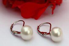 YR5  Echte Süßwasser Perlenschmuck Ohrringe Ohrstecker Ohrhänger 925 Silber