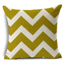 Bohemian & Moroccan Geometric Cotton Linen Pillow Case Square Cushion Cover #16 Black Plus