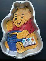 Wilton Winnie the Pooh Cake Pan Retired Vintage Birthday Baby Shower Honey Pot