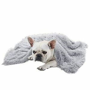 BLEVET Super Soft Warm Fluffy Pet Blankets for Small Medium Large Dogs and Cats