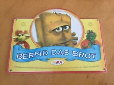 4 Stück Bernd das Brot Frühstücksbrettchen , Neu
