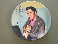 "Elvis Presley Collector Plate ""A Studio Session"" Bradford Exchange Delphi"