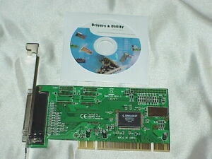 OEM Genuine Moschip MCS9805CV FM457-001 0643 Parallel Printer Adapter Card