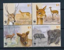[54009] Argentina 2002 Wild animals Mammals Wwf Deer Wild pig Mnh