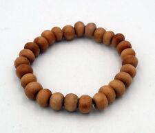 Buddha Armband Gebetsarmband Holzperlen Sandelholz Mala Unisex Handarbeit