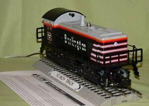K-Line 2322 Burlington Dual Motor Pwr'd S-2 Diesel O/027 ga wks w/ Lionel 1995