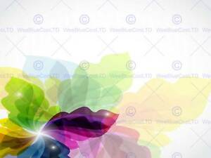 PAINTING ILLUSTRATION ABSTRACT FLORAL DESIGN PATTERN ART PRINT POSTER MP3010B