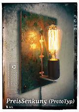 Lampen Objektmöbel aus Eisen