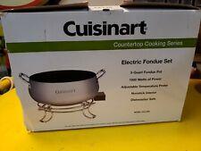 Cuisinart CFO-3SS Electeic Fondue Set