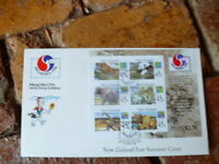 NEW ZEALAND PHILA KOREA 1994 WILDLIFE MINI SHEET LARGE SOUVENIR COVER