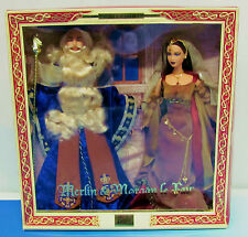 Barbie Merlin & Morgan Le Fay Doll Gift Set Mattel 2000 NRFB Ken Magic Mystery